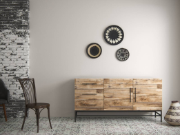 Пример мебели из декора Гамбия (коллекция САФАРИ) Lamarty 2018